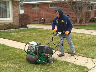 Spring is finally here. Check out our lawn care services